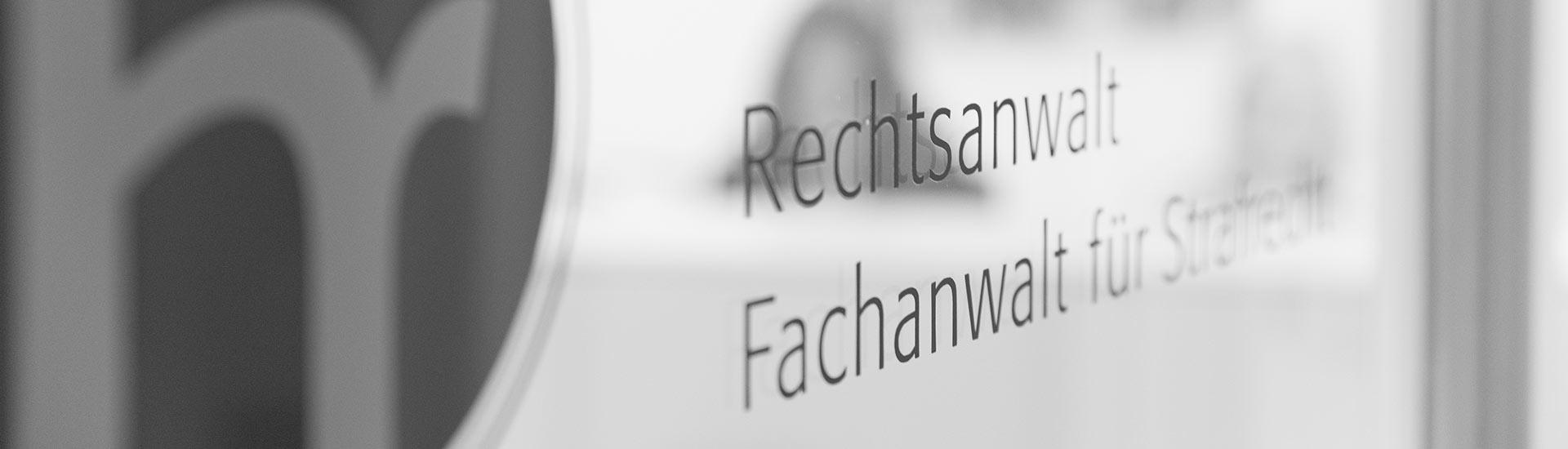 Fachanwalt für Strafrecht in Wiesbaden